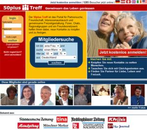 Generation 50plus im Netz