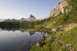 Italien Dolomiten Croda da Lago