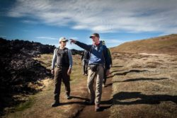 Reiseleiter Andreas Happe auf Island