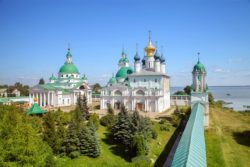 Spaso-Yakovlevsky monastery in Rostov the Great, Russia